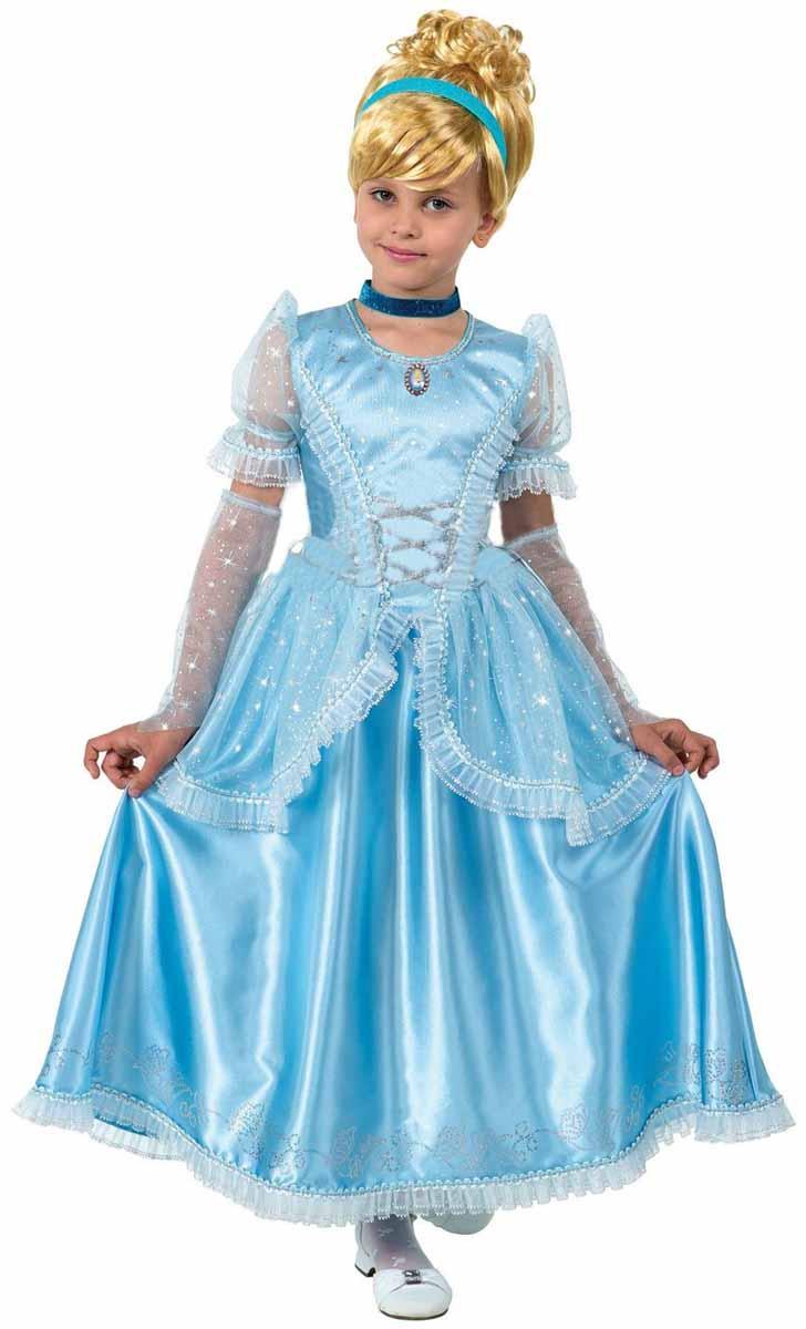 Батик Карнавальный костюм для девочки Принцесса Золушка размер 34