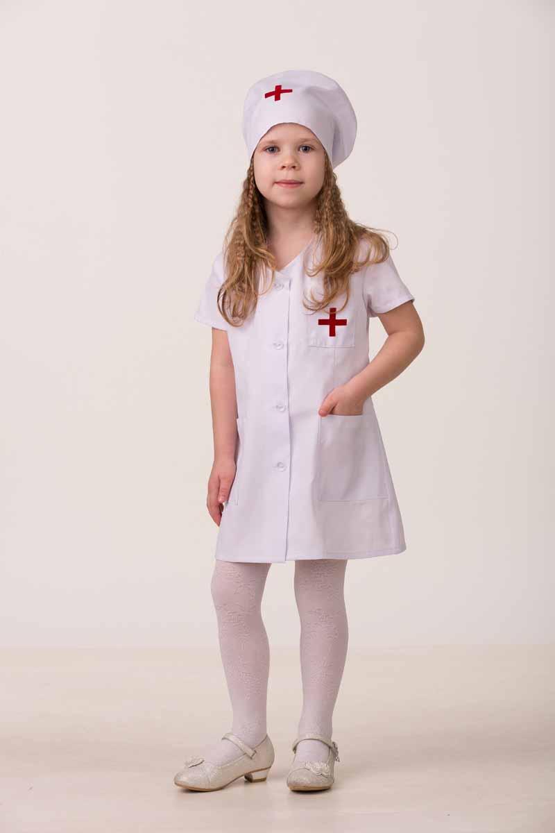 Дженис Костюм карнавальный Медсестра-1 размер 34 - Карнавальные костюмы и аксессуары