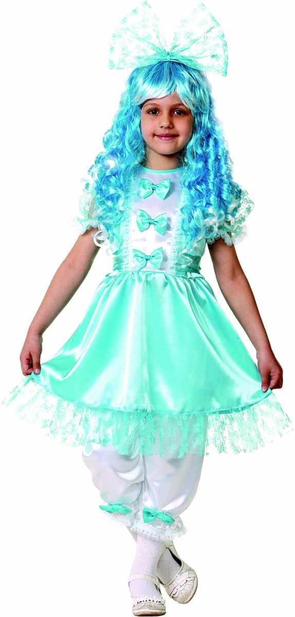 Батик Карнавальный костюм для девочки Мальвина размер 26 incity карнавальный костюм единорог