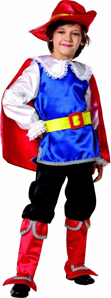Батик Карнавальный костюм для мальчика Кот в сапогах размер 26 детский костюм доброй собачки 26 32
