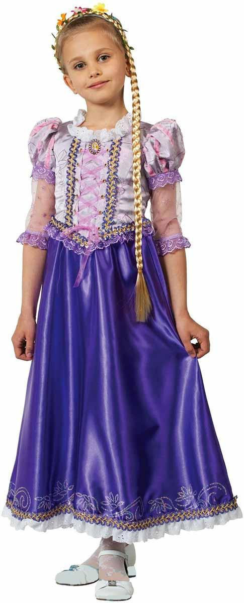 Батик Карнавальный костюм для девочки Принцесса Рапунцель размер 32