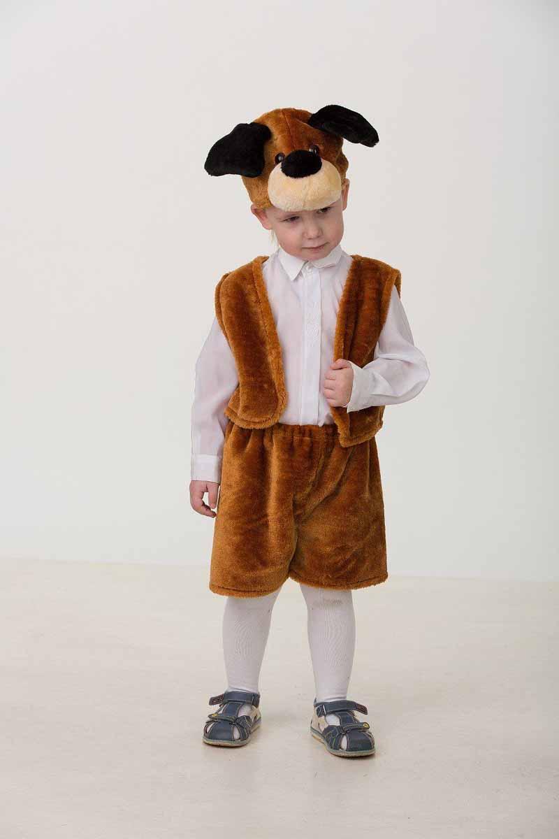 Батик Костюм карнавальный Собачка Тузик размер 28 карнавальный костюм снежинка 32