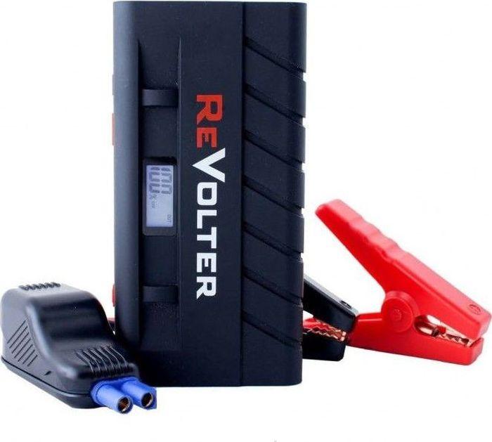 Устройство пуско-зарядное ReVolter NitroRevolter NПуско-зарядное многофункциональное устройство для экстренного запуска автомобиля, зарядки электронных устройств (ноутбука, телефона, планшета) за счет встроенного источника питания. Устройство имеет USB разъем для подзарядки портативной техники (ток 2,1А, 5В). В комплекте зажимы типа крокодил, кожаный кейс для хранения, аксессуары и переходники для портативного холодильника, ноутбука, мобильных телефонов, зарядка через авто-прикуриватель, сетевое зарядное устройство. - Работает при температуре от -30С до + 50 С. - Переключение режимов на 12В, 16В, 19В. - Имеет встроенный светодиодный фонарь высокой яркости. - Пиковый пусковой ток 600А. - Емкость встроенной Li-Pol АКБ 15000 мАч.