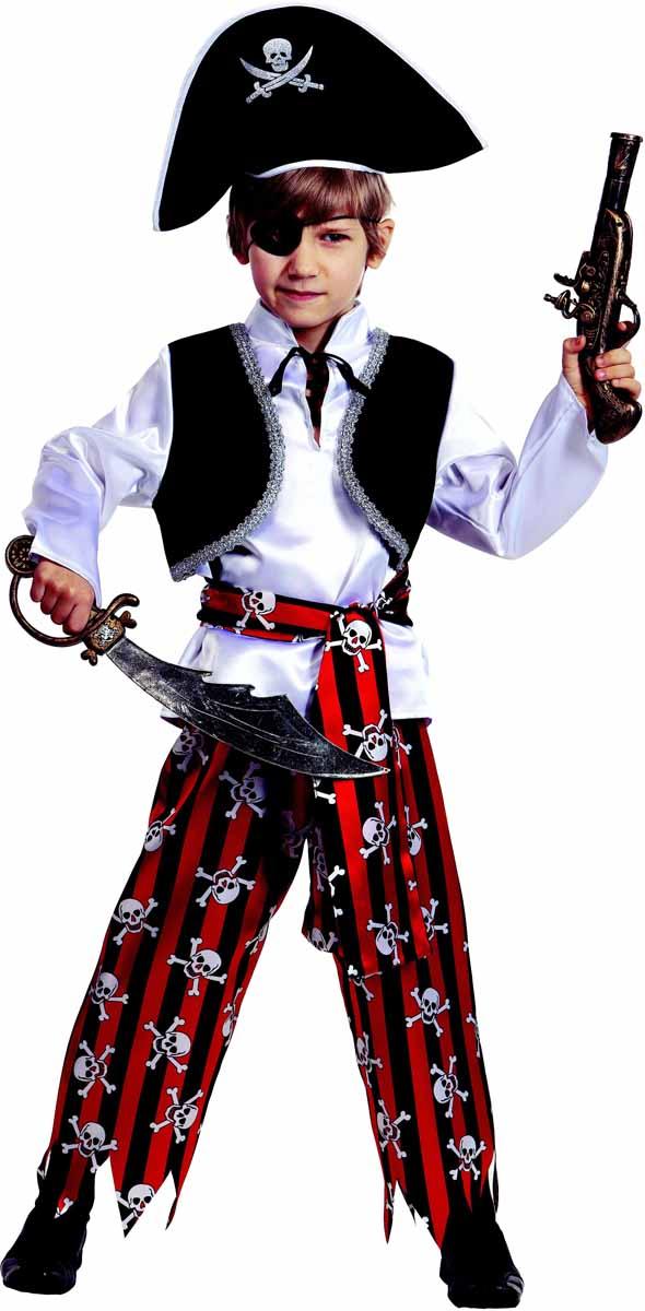 Батик Карнавальный костюм для мальчика Пират размер 28 батик карнавальный костюм капитан флинт