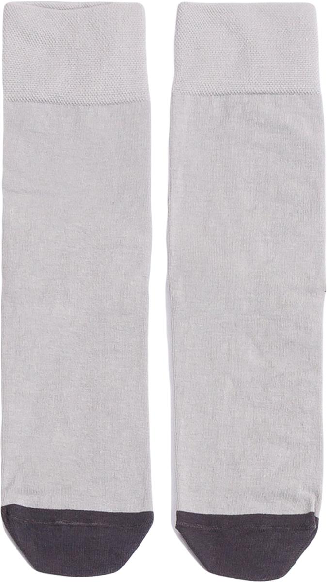 Носки мужские Mark Formelle, цвет: светло-серый меланж. 001K-250. Размер 42/43001K-250