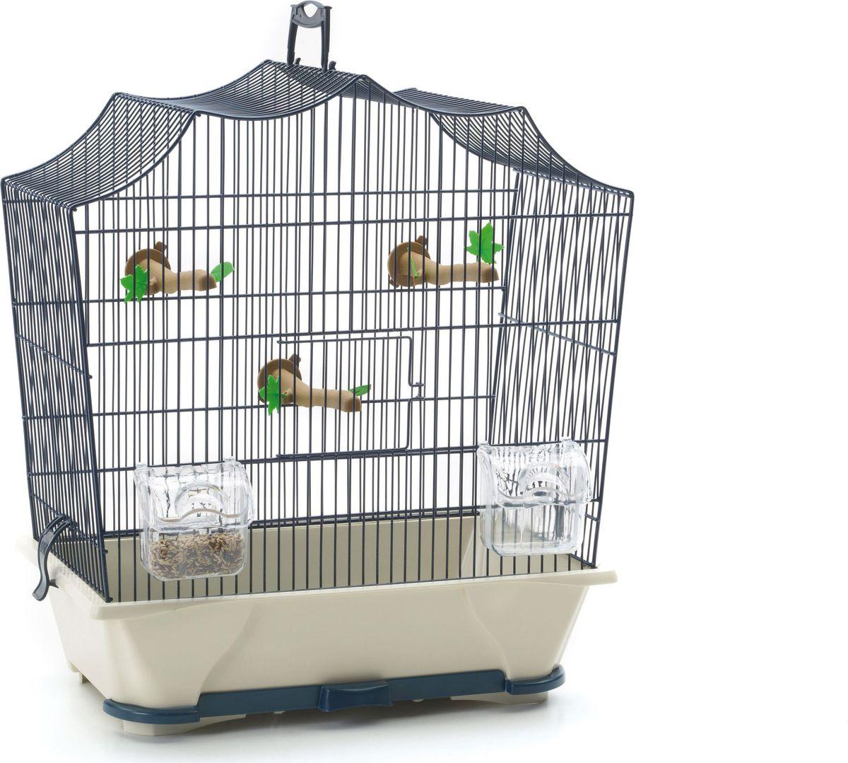 Клетка для птиц Savic  Silvie , цвет: голубой, 43 х 25 х 47 см - Клетки, вольеры, будки