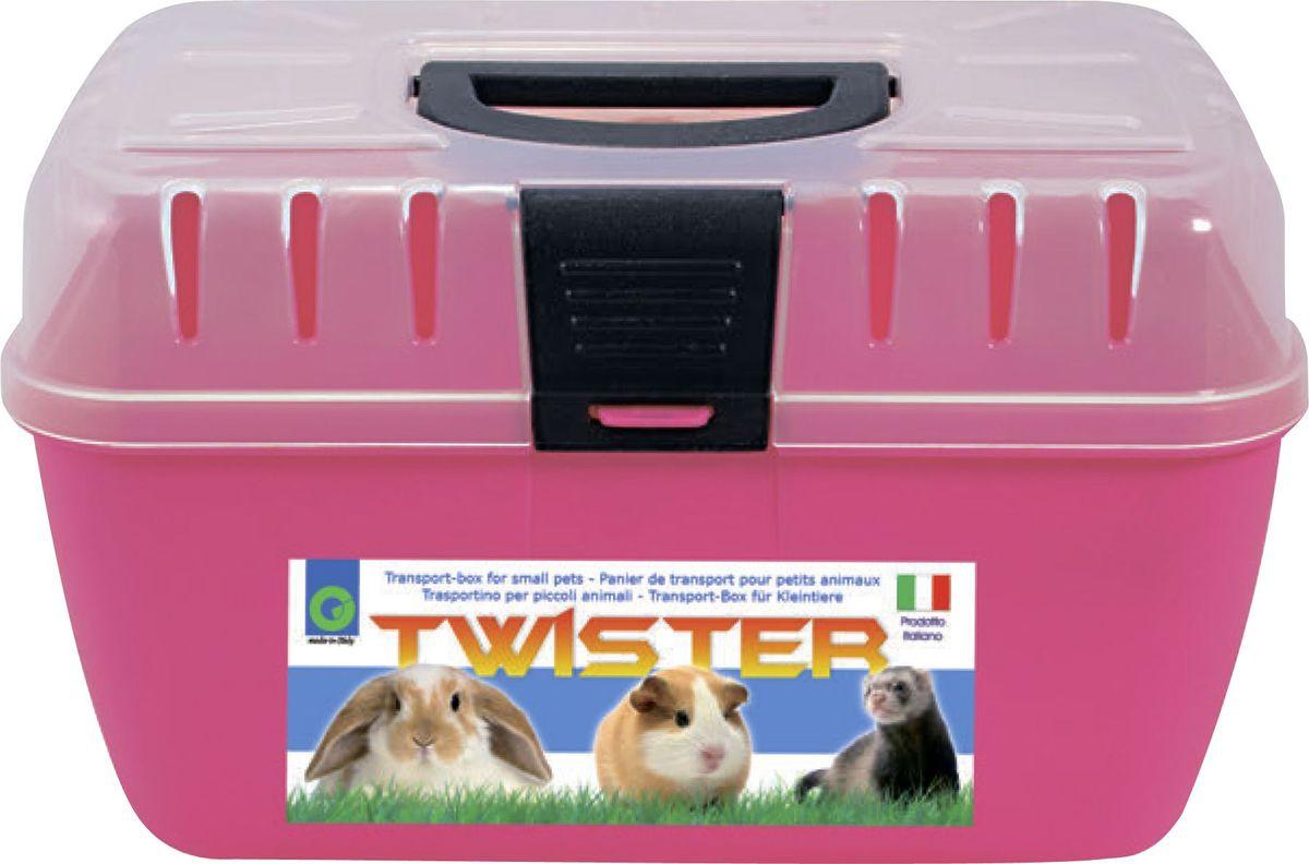 Переноска для грызунов Georplast  Twister , 29 х 19 х 18 см - Переноски, товары для транспортировки
