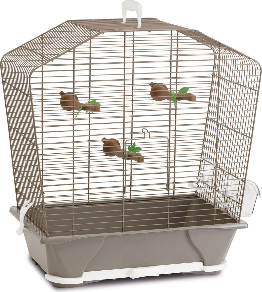 Клетка для птиц Savic  Camille , цвет: бежевый, 45 х 25 х 48 см - Клетки, вольеры, будки
