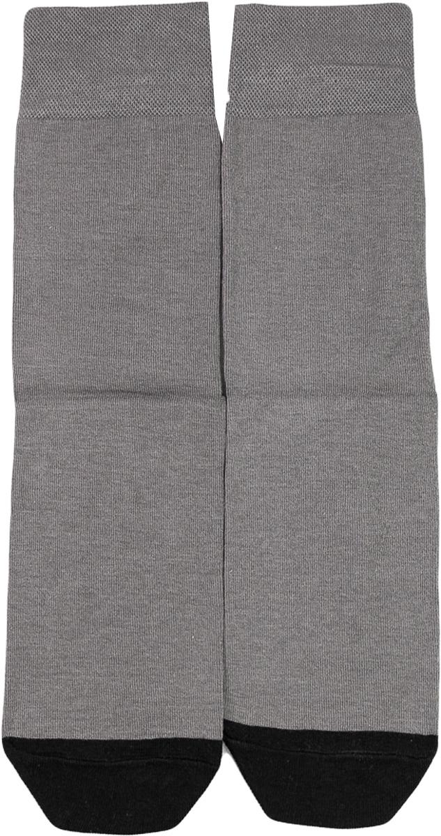 Носки мужские Mark Formelle, цвет: серый. 001K-512. Размер 40/41001K-512