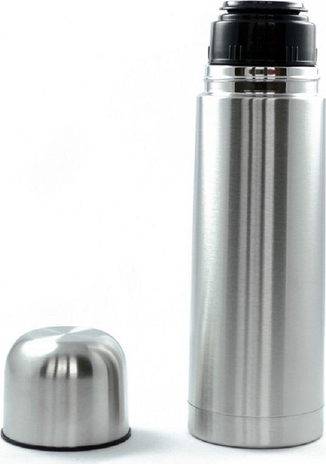 Термос Cs-Kochsysteme Elstra, 1 л060749Термос ELSTRA, 1000 мл, с двойными стенками изготовлен из нержавеющей стали, герметичный, противоударный. Можно мыть в посудомоечной машине. Упакован в подарочную коробку