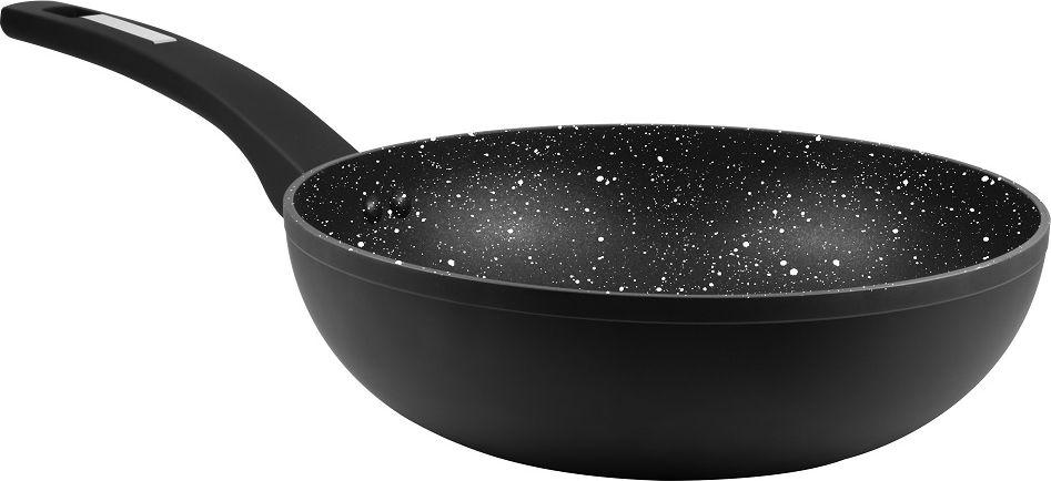 """Сковорода-вок Cs-Kochsysteme """"Marburg"""" изготовлена из кованого алюминия с антипригарным мраморным покрытием. Сочетание материалов и технологии придаёт посуде необходимую лёгкость и практичность использования.  Посуда серии """"Marburg"""" прекрасно подходит для всех видов варочных поверхностей, включая индукционные."""
