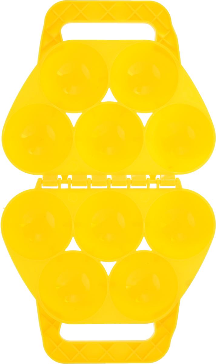 Зимние забавы Снежколеп 5 ячеек цвет желтый Зимние забавы