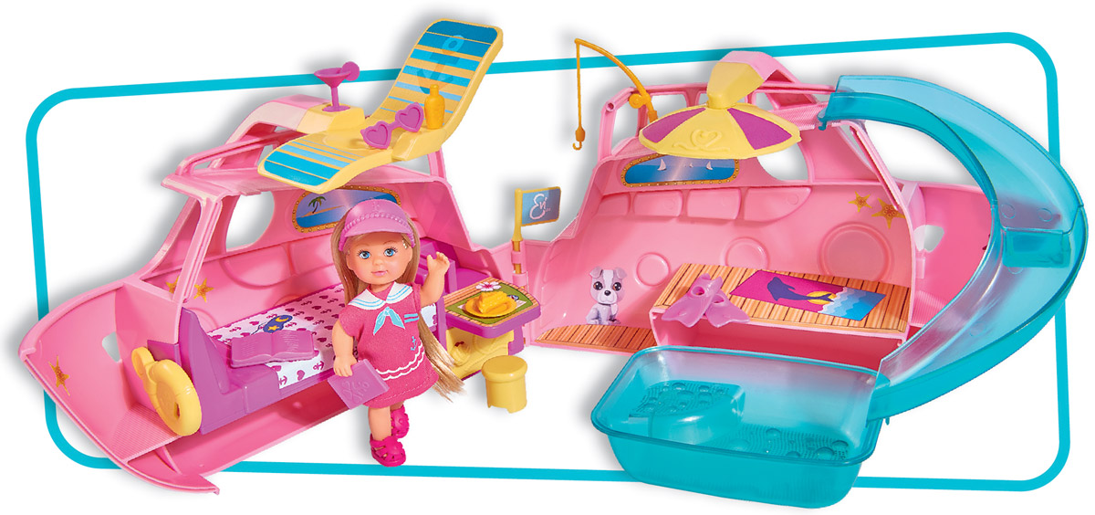 Simba Кукла Еви на круизном корабле simba светящиеся наклейки ночнички