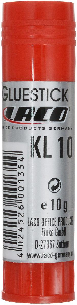 Laco Клей-карандаш 10 г2613020Клеящий карандаш позволяет быстро и надежно склеивать бумагу, картон и другие материалы. Масса - 10 г