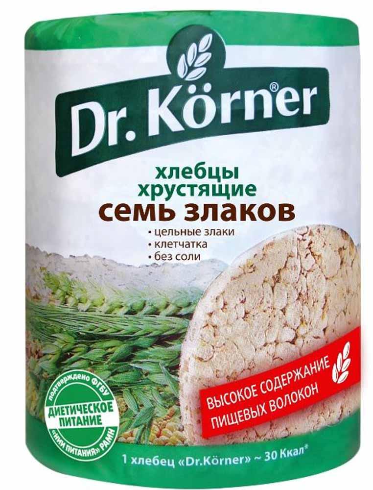 Dr. Korner Семь злаков хлебцы, 100 г dr oetker пикантфикс для огурцов 100 г