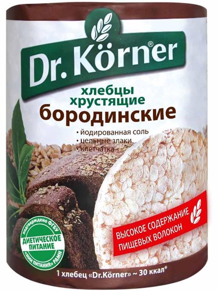 Dr. Korner Хлебцы бородинские , 100 г посыпка dr oetker шоколадная 10 г
