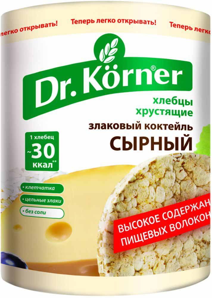 Dr. Korner Сырный злаковый коктейль хлебцы, 100 г кукуруза coruma со вкусом двойного сыра 50г