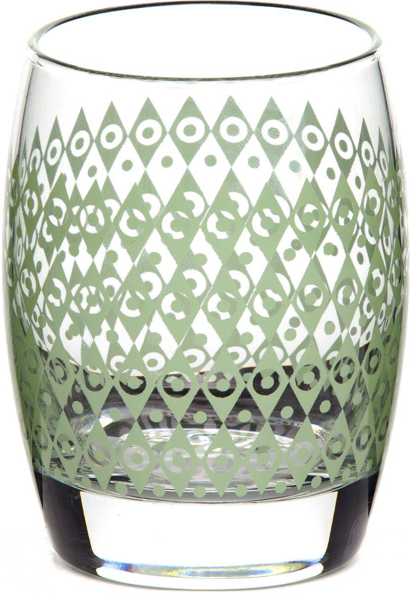 Стакан Pasabahce БОХО, цвет: зеленый, 350 мл420064SLBD3Стакан Pasabahce БОХО с рисунком зеленого цвета изготовлен из прочного стекла и имеет толстое дно. Стакан предназначен для подачи сока, воды и других напитков.