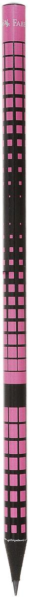 Faber-Castell Карандаш чернографитный Square & Elips цвет розовый115813_розовыйЧернографитовый карандаш Square & Elips. Круглая форма - необычный цвет корпуса - твердость HB - легкое затачивание - специальная технология вклеивания (SV) предотвращает поломку грифеля