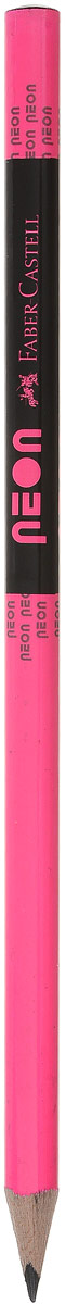 Faber-Castell Карандаш чернографитный Neon цвет розовый316200_розовыйЧернографитовый карандаш Neon - эргономичная трехгранная форма - яркие неоновые цвета корпуса - твердость HB - легкое затачивание - специальная технология вклеивания (SV) предотвращает поломку грифеля