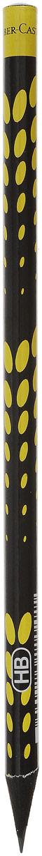 Faber-Castell Карандаш чернографитный Square & Elips цвет желтый85046Чернографитовый карандаш Square & Elips. Круглая форма - необычный цвет корпуса - твердость HB - легкое затачивание - специальная технология вклеивания (SV) предотвращает поломку грифеля