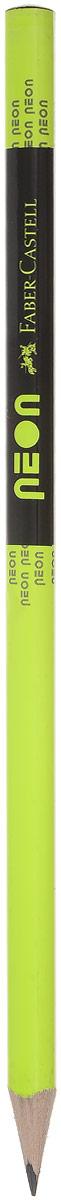 Faber-Castell Карандаш чернографитный Neon цвет салатовый316200_салатовыйЧернографитовый карандаш Neon - эргономичная трехгранная форма - яркие неоновые цвета корпуса - твердость HB - легкое затачивание - специальная технология вклеивания (SV) предотвращает поломку грифеля