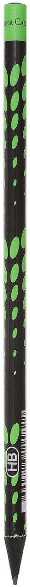Faber-Castell Карандаш чернографитный Square & Elips цвет зеленый115813_зеленыйЧернографитовый карандаш Square & Elips. Круглая форма - необычный цвет корпуса - твердость HB - легкое затачивание - специальная технология вклеивания (SV) предотвращает поломку грифеля