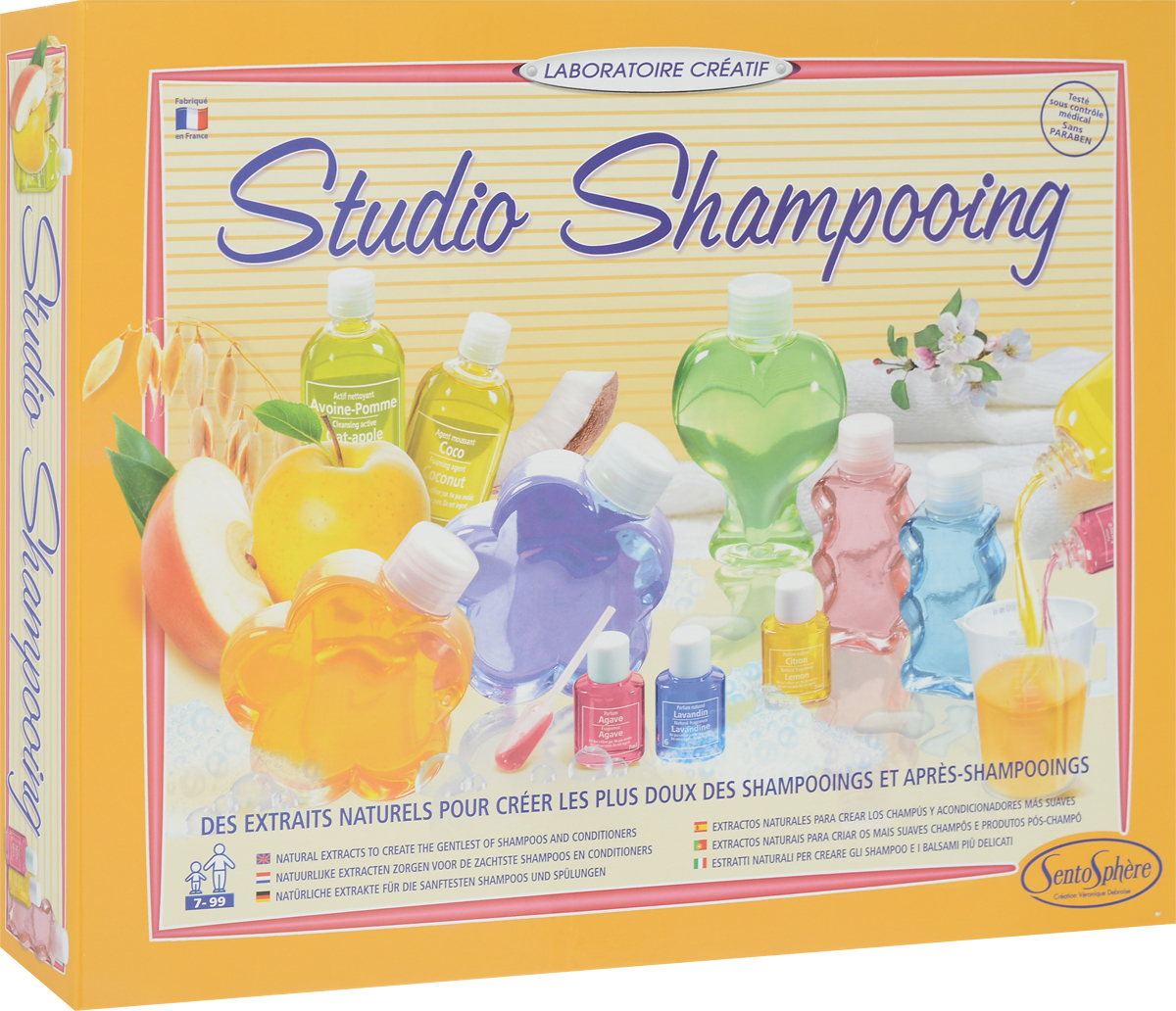 SentoSphere Набор для изготовления косметики Шампо Лаб
