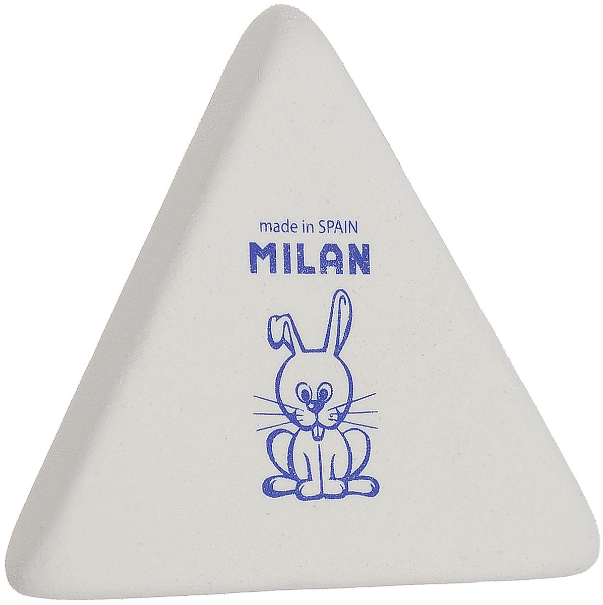 Milan Ластик 3X3 треугольный цвет белыйCMM3X3_белыйЛастик удобной треугольной формы для точного стирания. Отлично удаляет следы графита мыгких карандашей. Страна-производитель: Испания