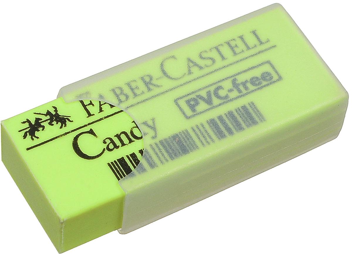 Faber-Castell Ластик Candy цвет желтый 784000784000_желтый- для чернографитовых карандашей; - качественный ластик; - не содержит ПВХ, является другом окружающей среды и потребителей; - пластиковый чехол для защиты ластика.