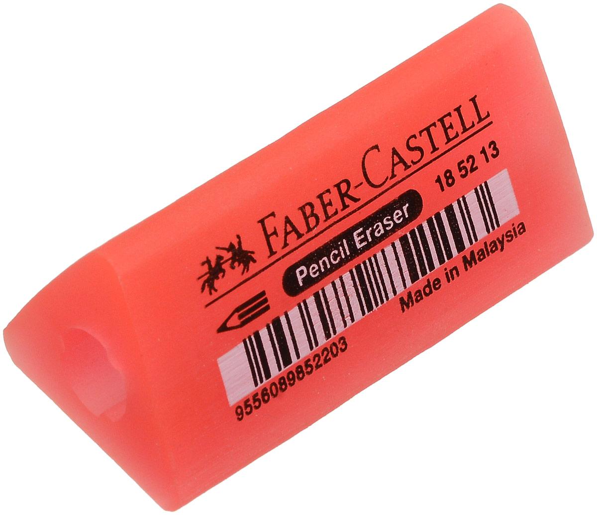 Faber-Castell Ластик-манжетка флуоресцентный цвет красный 185213185213_красныйЛастик Faber-Castell может быть использован в качестве манжетки для карандашей. У ластика эргономичная трехгранная форма, не содержит ПВХ.