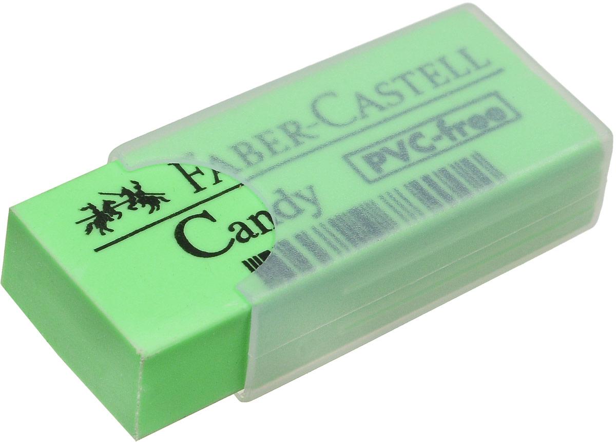 Faber-Castell Ластик Candy цвет зеленый 784000, Чертежные принадлежности  - купить со скидкой