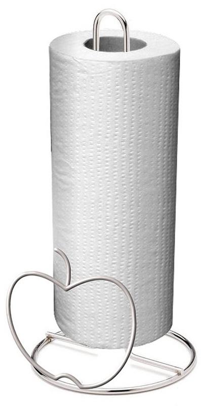 Держатель для бумажных полотенец Мультидом. AN52-58AN52-58Держатель для бумажных полотенец – необходимый аксессуар на современной кухне. С этим держателем бумажные полотенца будут всегда у вас под рукой.Подходит для рулонов стандартного размера. Изготовлен из стальной хромированной проволоки.