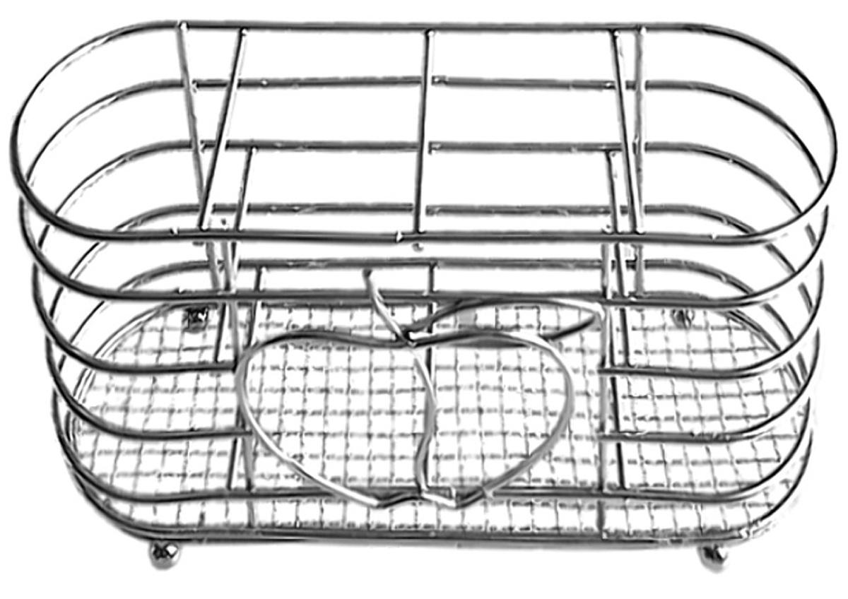 Подставка для столовых приборов Мультидом Яблоко-2AN52-69Подставка Мультидом Яблоко-2 используется для сушки и хранения столовых приборов, кухонных лопаток и инструментов. Изготовлена из хромированной проволоки.