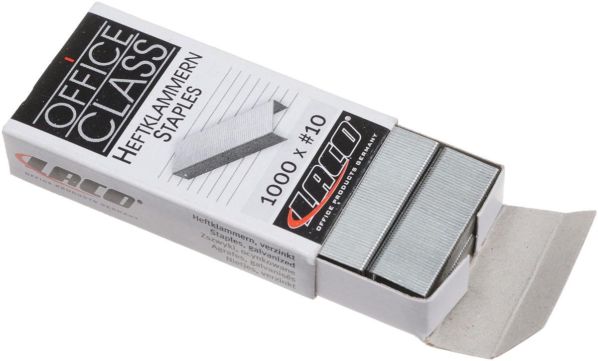 Laco Скобы для степлера №10 1000 шт
