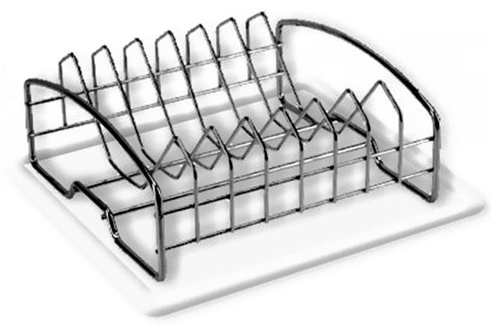 Сушилка для посуды Мультидом, c поддоном, 33 х 20,5 х 9 смAN52-101Металлическая сушилка используется для сушки и хранения разнообразных тарелок и кухонных принадлежностей.Размер сушилки 33 х 20,5 х 9 см.Комплектуется пластиковым поддоном для сбора влаги, что согдает дополнительное удобство и практичность в уходе. Размер поддона 38 х 25 см.Изготовлено: сушилка из стальной хромированной проволоки.