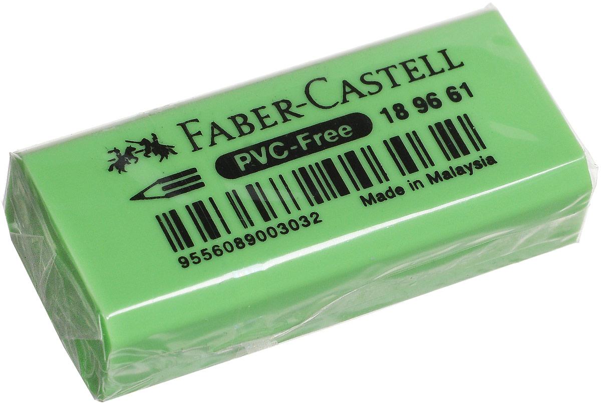 Faber-Castell Ластик флуоресцентный цвет зеленый 189661189661_зеленый- не содержит ПВХ - безопасен для детей- пригоден для графитных карандашей- 4 флуоресцентных цвета