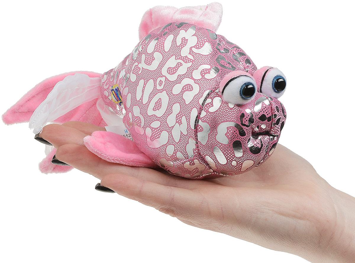 LilkinzМягкая игрушка Розовая рыбка 10 см Lilkinz
