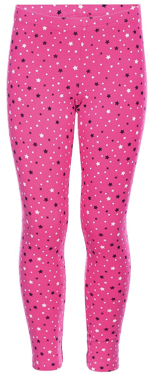 Леггинсы для девочки United Colors of Benetton, цвет: розовый. 3DY5I0446_920. Размер 823DY5I0446_920Леггинсы для девочки выполнены из качественного материала. Облегающая модель стандартной посадки дополнены эластичной резинкой на талии и оформлены оригинальным принтом.