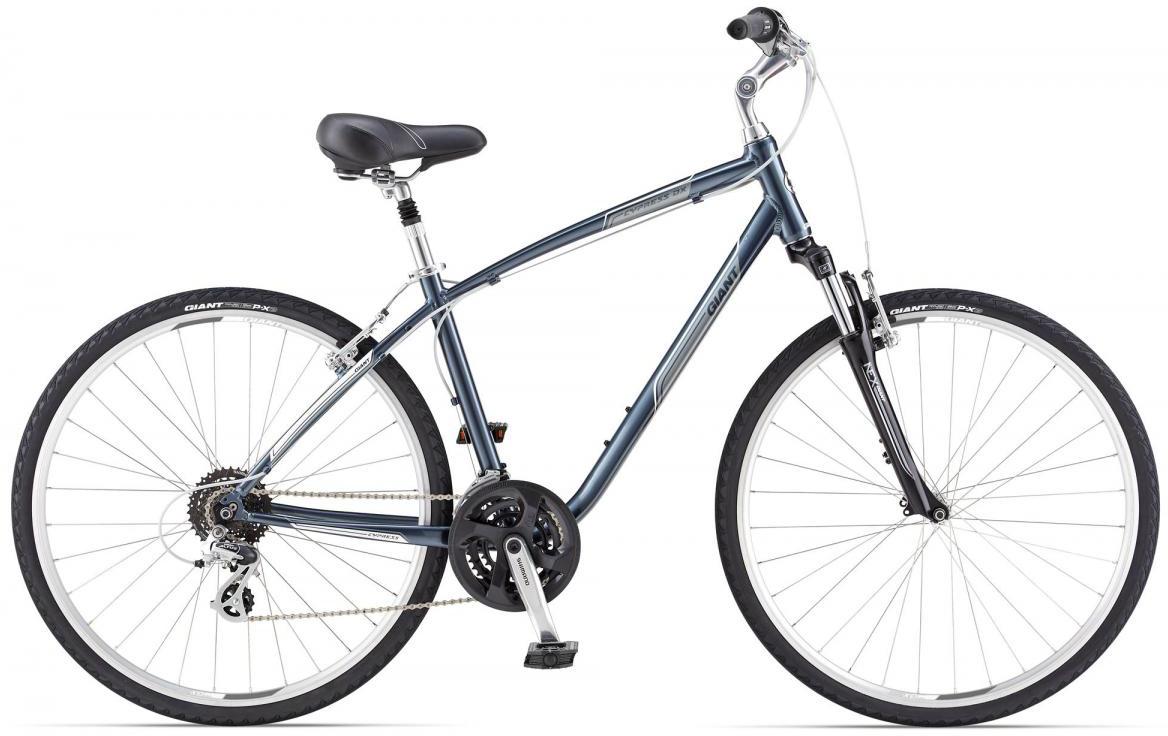 Велосипед городской Giant Cypress DX, цвет: серый, рама 18, колесо 28106983