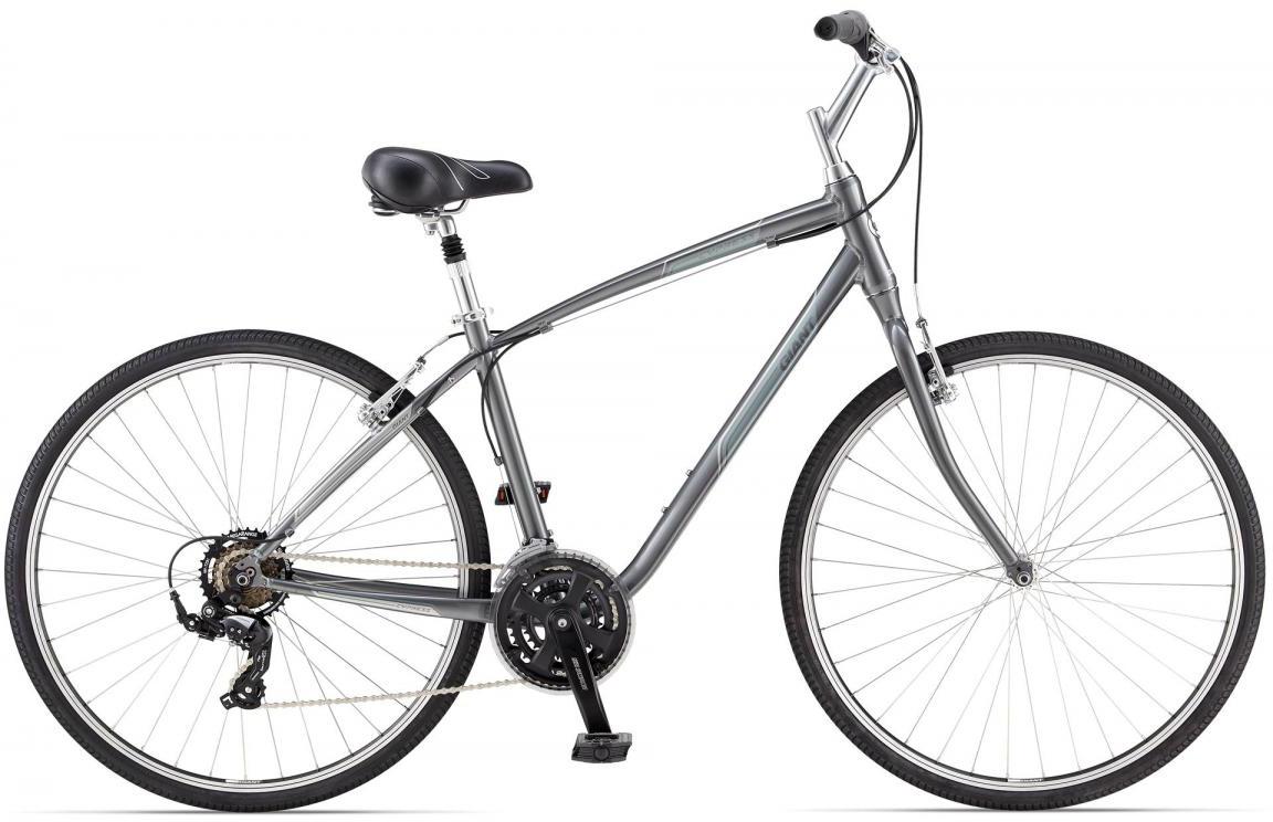 Велосипед городской Giant Cypress, цвет: серый, рама 14,5, колесо 28106999