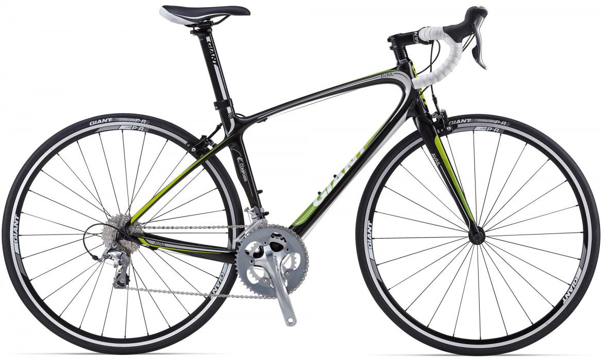 Велосипед женский Giant Avail Composite 3 2014, цвет: белый, рама 14,5, колесо 28107016