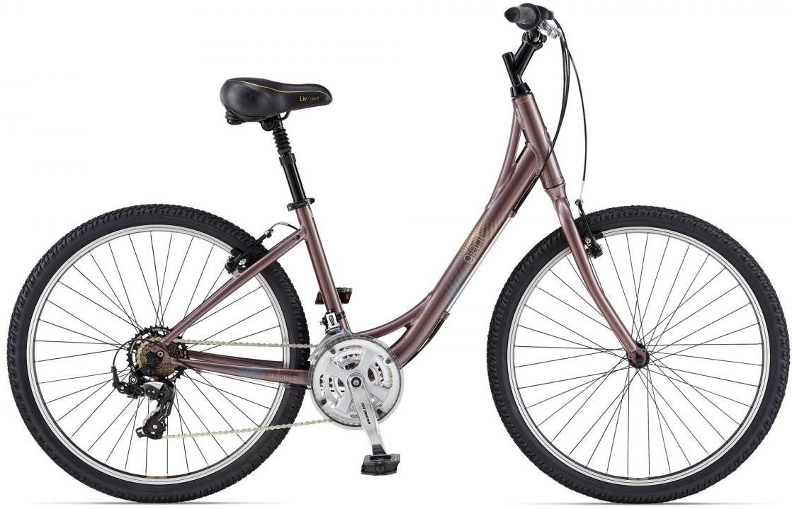 Велосипед женский Giant Sedona W 2014, цвет: белый, рама 14,5, колесо 26107030