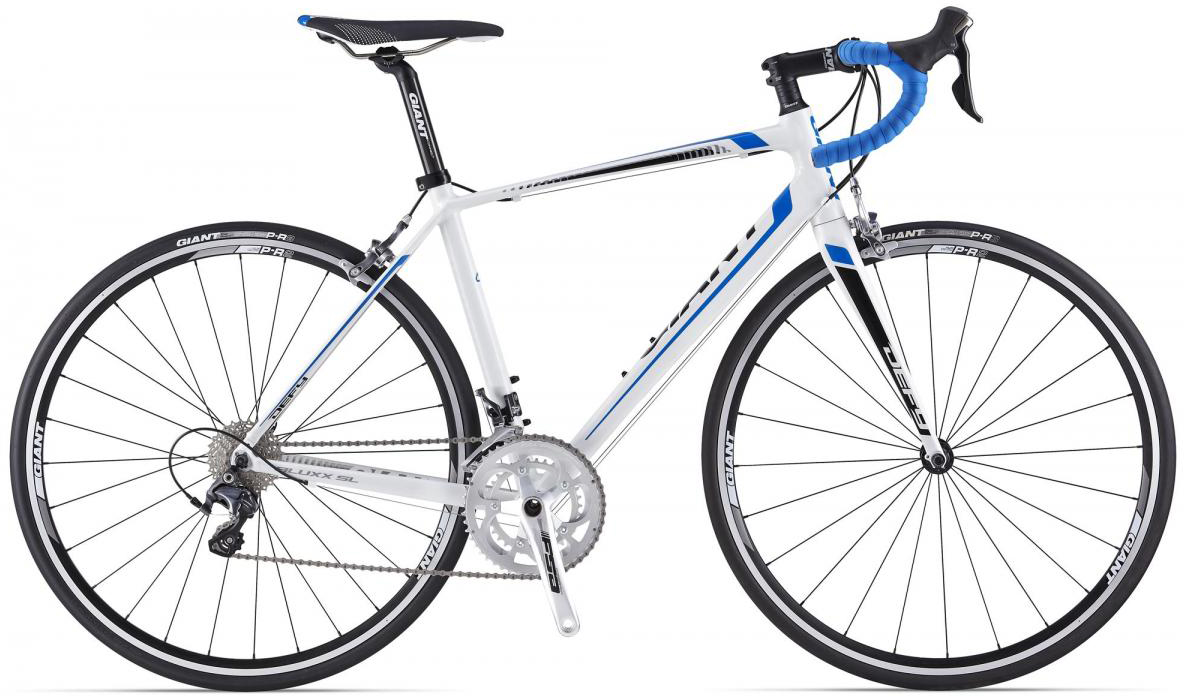 Велосипед шоссейный Giant Defy 0 2014, цвет: белый, рама 18, колесо 28. 0107034107034