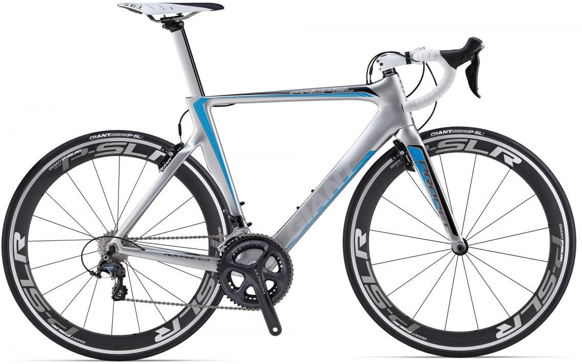 Велосипед шоссейный Giant Propel Advanced 2 2014, цвет: серый, рама 20, колесо 28107068