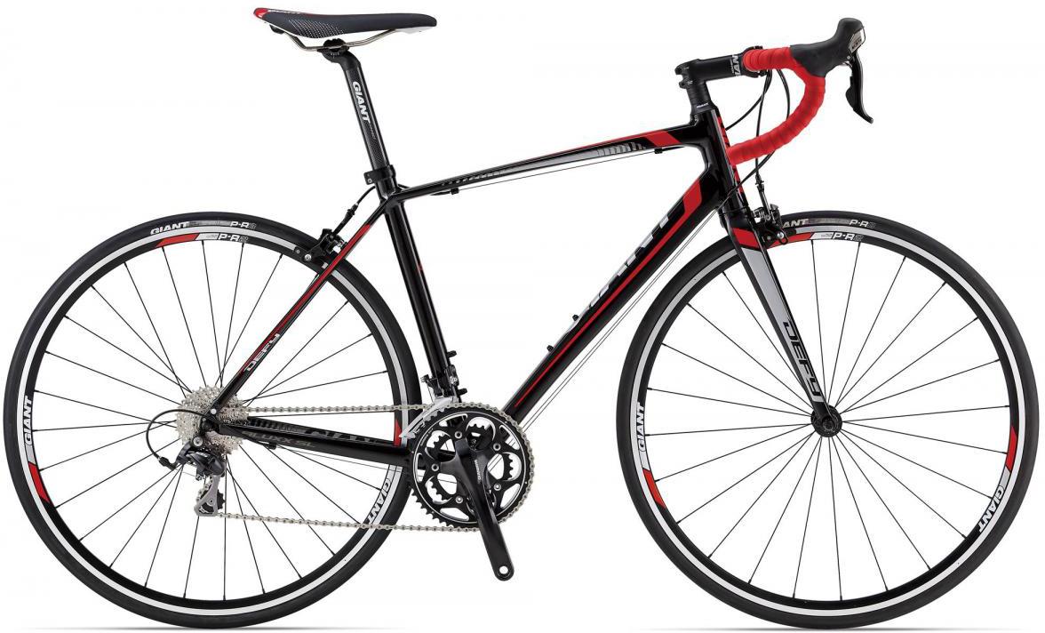 Велосипед шоссейный Giant Defy 1 2014, цвет: синий, рама 20, колесо 28107073