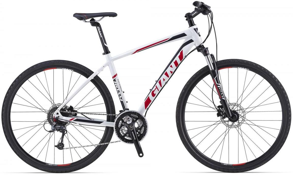 Велосипед городской Giant Roam 1 Disc, цвет: белый, рама 14,5, колесо 28107295