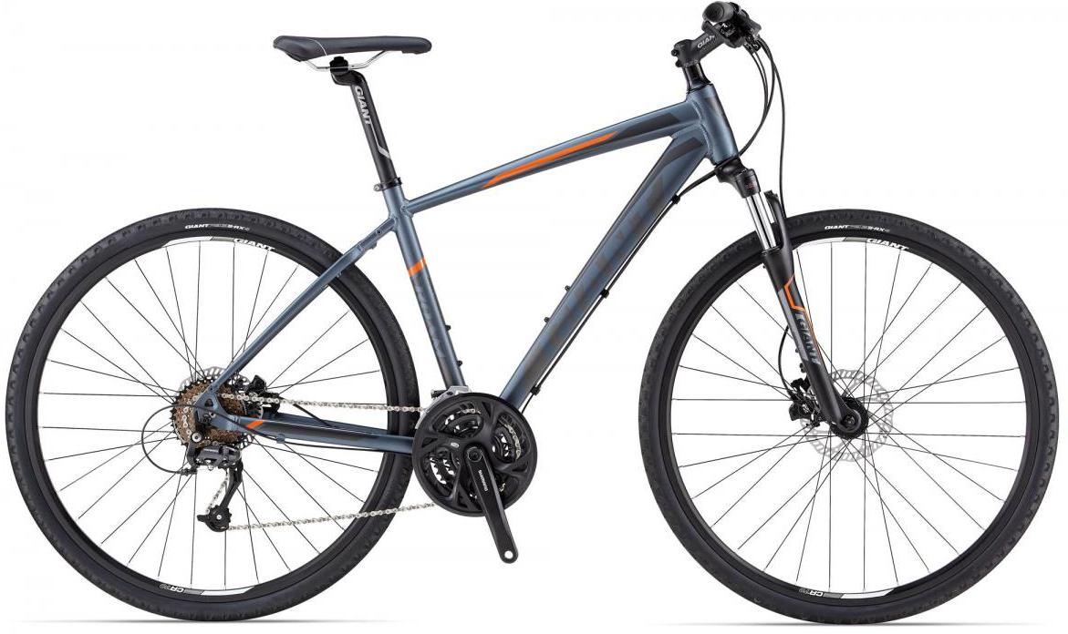 Велосипед городской Giant Roam 2 Disc, цвет: серый, рама 20, колесо 28107297