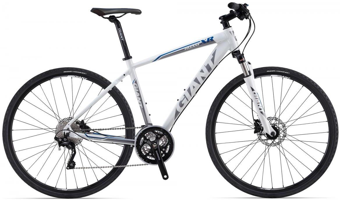 Велосипед городской Giant Roam XR 1, цвет: белый, рама 18, колесо 28107318