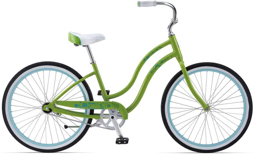 Велосипед женский Giant Simple Single W 2014, цвет: зеленый, рама , колесо 26107396